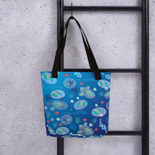 Load image into Gallery viewer, Parrotfish Sleeping Tote bag