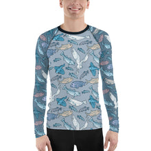 Load image into Gallery viewer, Atlantic Creatures Men's Rash Guard