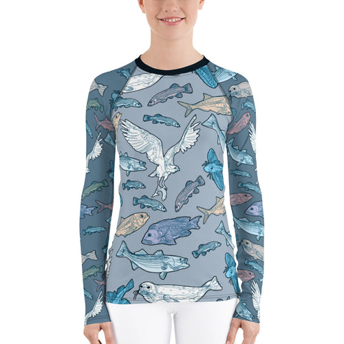 Atlantic Creatures Women's Rash Guard