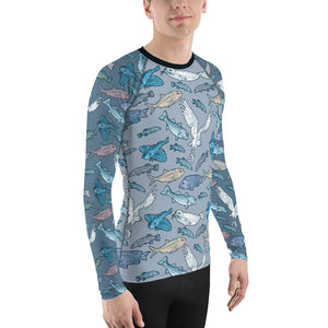 Atlantic Creatures Men's Rash Guard