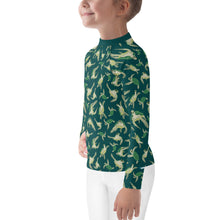 Load image into Gallery viewer, Turtle Rash Guard Kids 2T-7