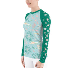 Load image into Gallery viewer, Antarctica Women's Rash Guard