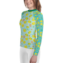 Load image into Gallery viewer, Baby Boxfish Youth Rash Guard