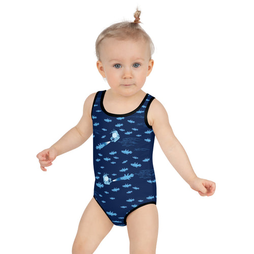 Coelacanthus Kids Swimsuit 2T-7