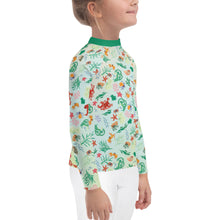 Load image into Gallery viewer, Tidepool Rash Guard Kids 2T-7