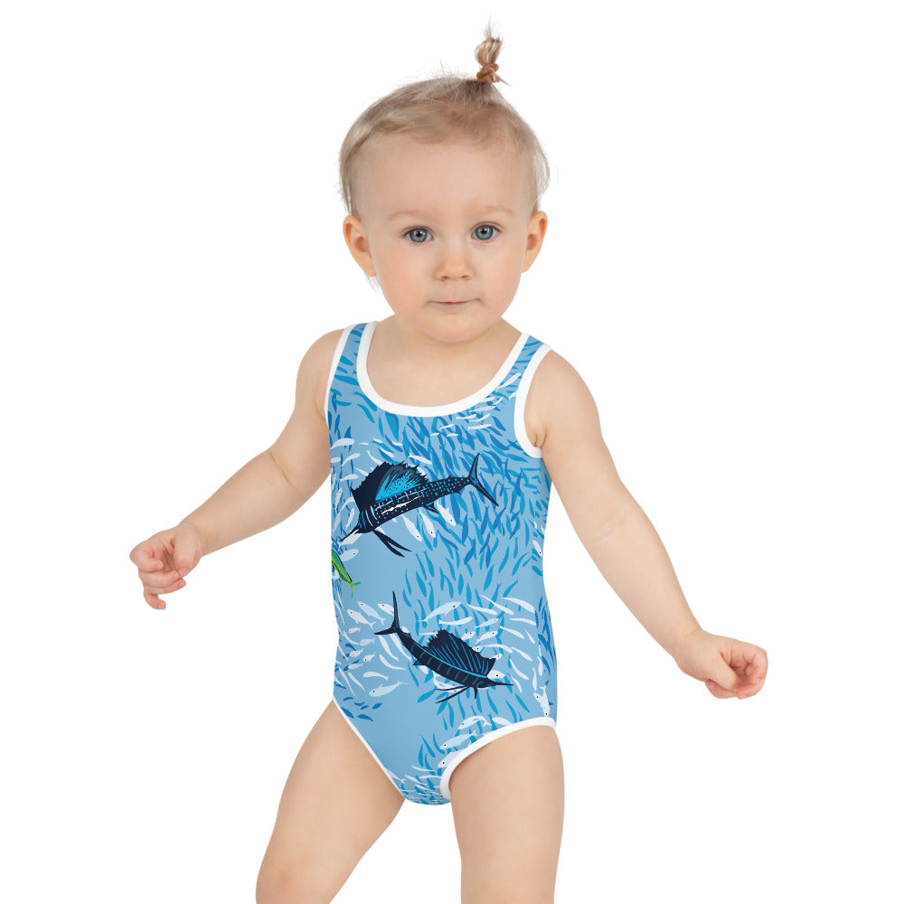 Sailfish on Light Kids Swimsuit 2T-7