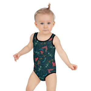 Ugly Fish Kids Swimsuit 2T-7