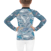 Load image into Gallery viewer, Atlantic Creatures Kids Rash Guard 2T-7