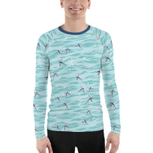 Load image into Gallery viewer, Flying Fish Men's Rash Guard