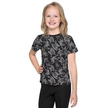 Load image into Gallery viewer, Octopus in B&W Kids T-Shirt