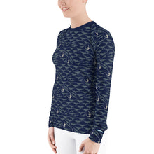 Load image into Gallery viewer, Sawfish Rash Guard Women's