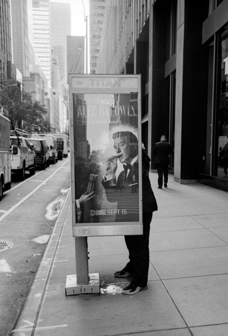 Phone Booth, 6th Avenue, New York