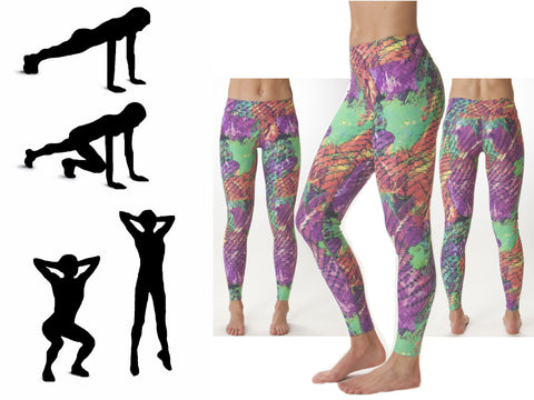 Paint Print JoJo Leggings