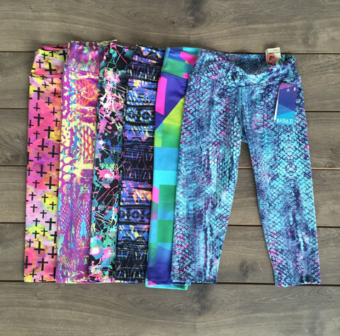 running capris with pocket for women
