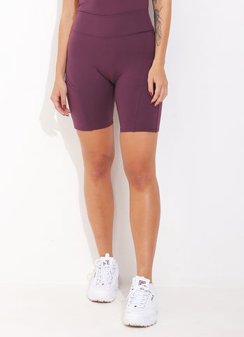 JoJo Biker Short ECO (Plum)