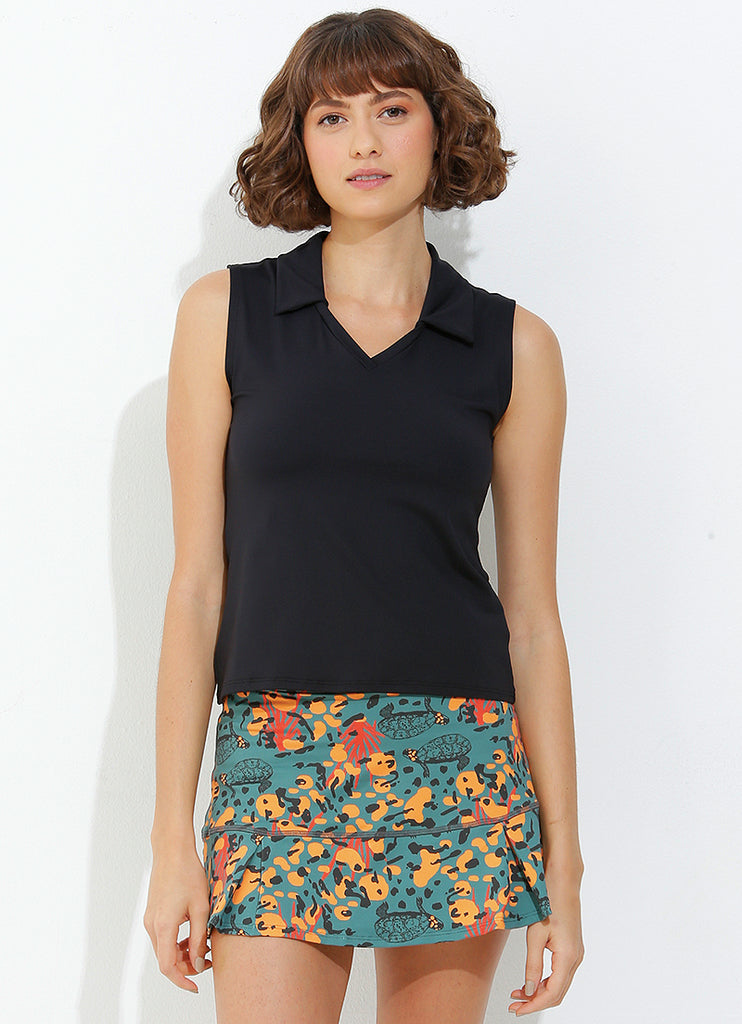 Sunshine Polo (Black)