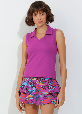 Sunshine Polo (Magenta)