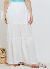 Cover-up Skirt (Off-White)
