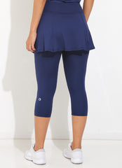 Skirted Capri ECO (Navy)