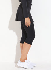 Skirted Capri (Black)