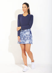 Birdie Skirt ECO (Tribal/Navy)