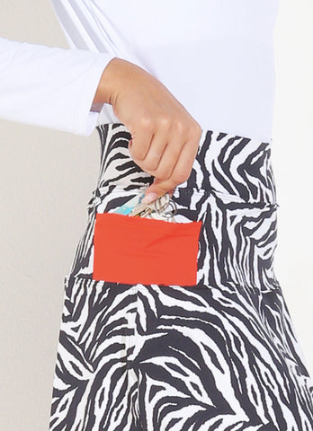 Birdie Skirt ECO (Zebra/Orange)