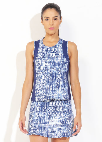 Match Tank (Tribal/Navy)