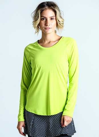 Endurance Top (Lime Green)