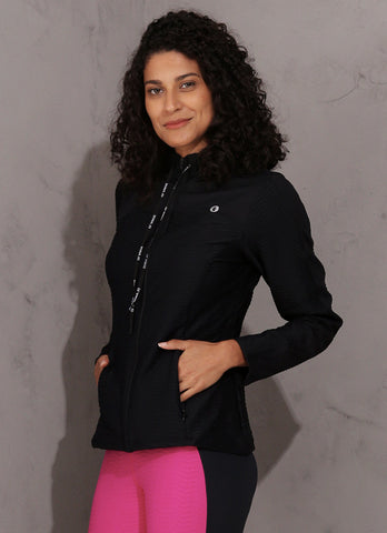 Wave Jacket (Black)