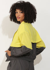 Track Jacket (Grey/Yellow)