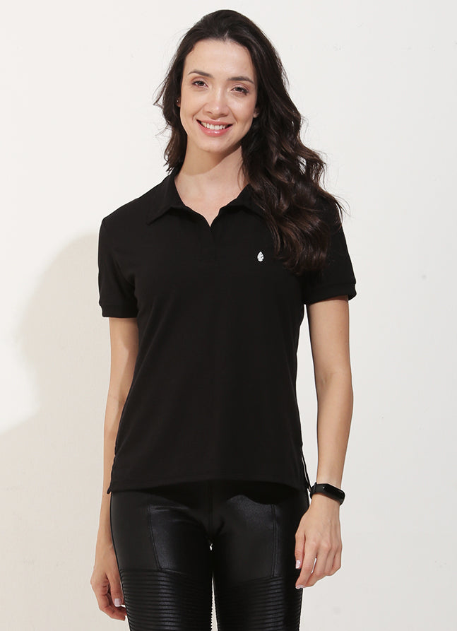 Court Polo (Black)