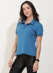 Court Polo (Blue)