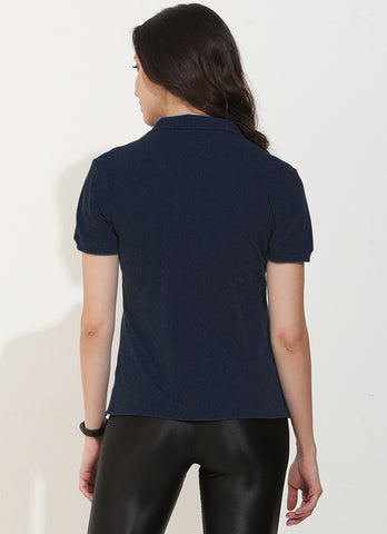 Court Polo (Navy)