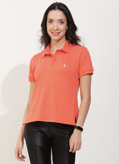 Court Polo (Orange)