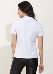 Court Polo (White)