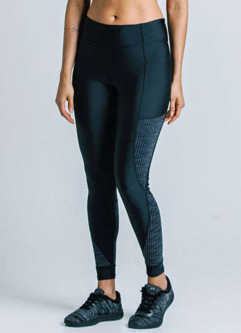 Power Legging (Blk/reflective)