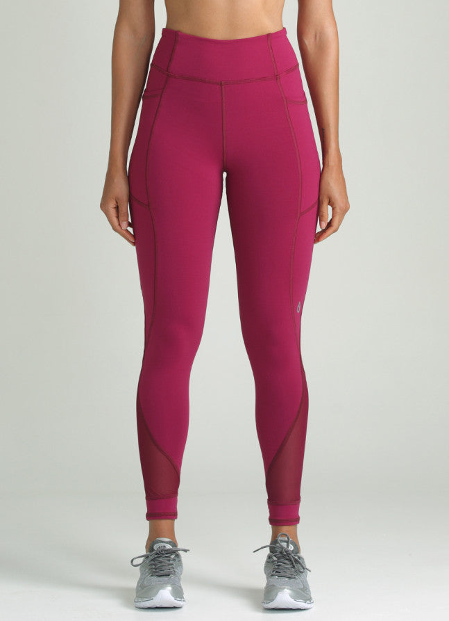 Power Legging (Merlot)