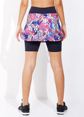 Skirted Biker Short (Flora)