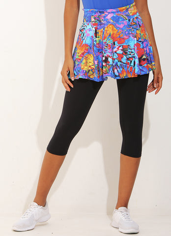 Flow Skirted Capri (Fly)