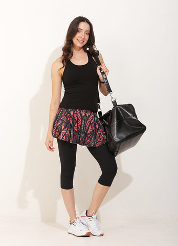 Flow Skirted Capri (ID)