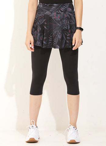 Flow Skirted Capri (Rubra)