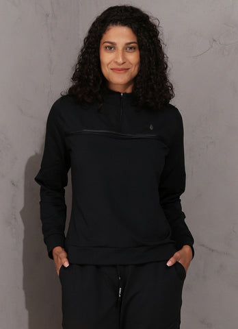 Thermo Half-Zip Shirt (Black)