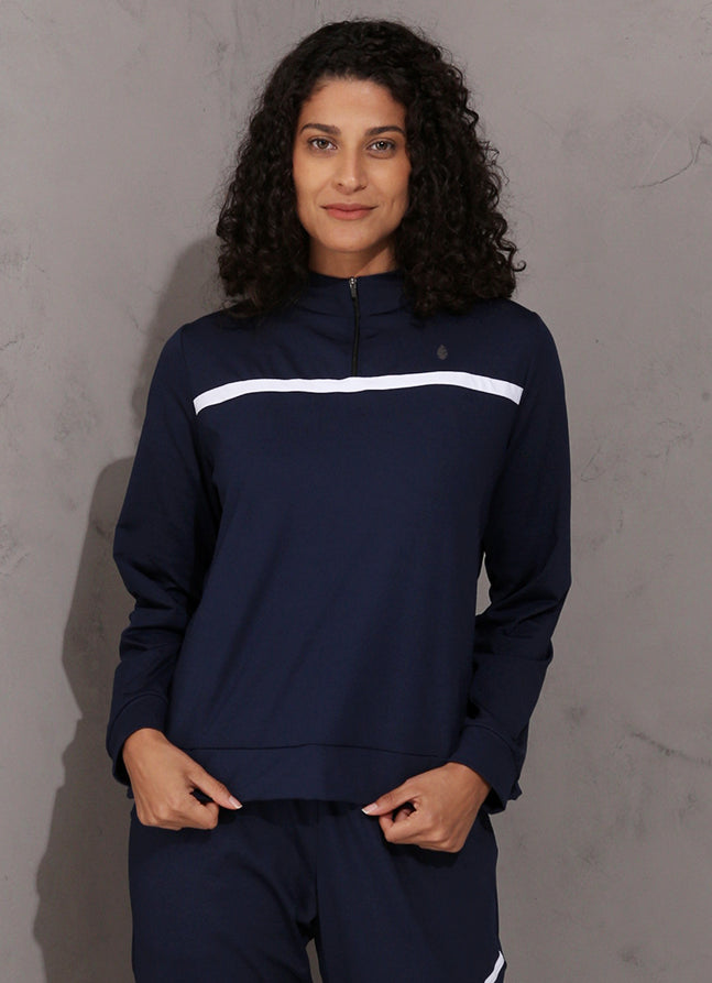 Thermo Half-Zip Shirt (Navy)