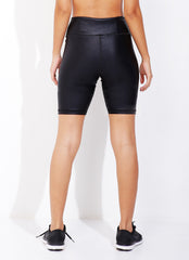 Power Biker Short (Black Luxer)