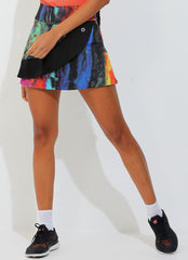 Spin Skirt ECO (Pied/Blk)