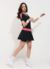 Lite Skirt (Black/Pink)