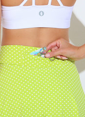 Flirty Skirt ECO (Lemon Polka Dot)