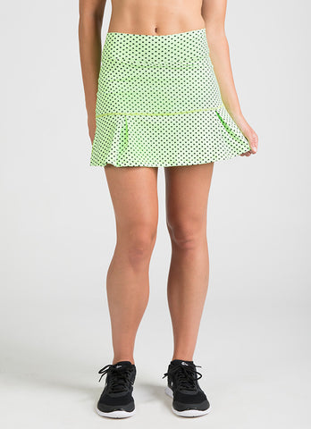 JoJo Running Skirt (Green Poa)