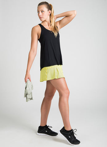 JoJo Running Skirt (Lime Poa)