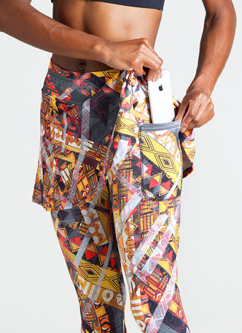 Skirted Capri (Navajo)